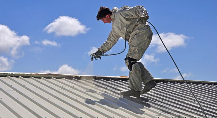 painting roof