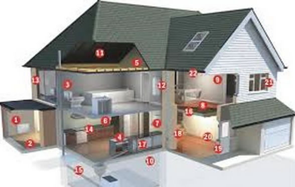The important places in a home that a pest and building inspection needs to address